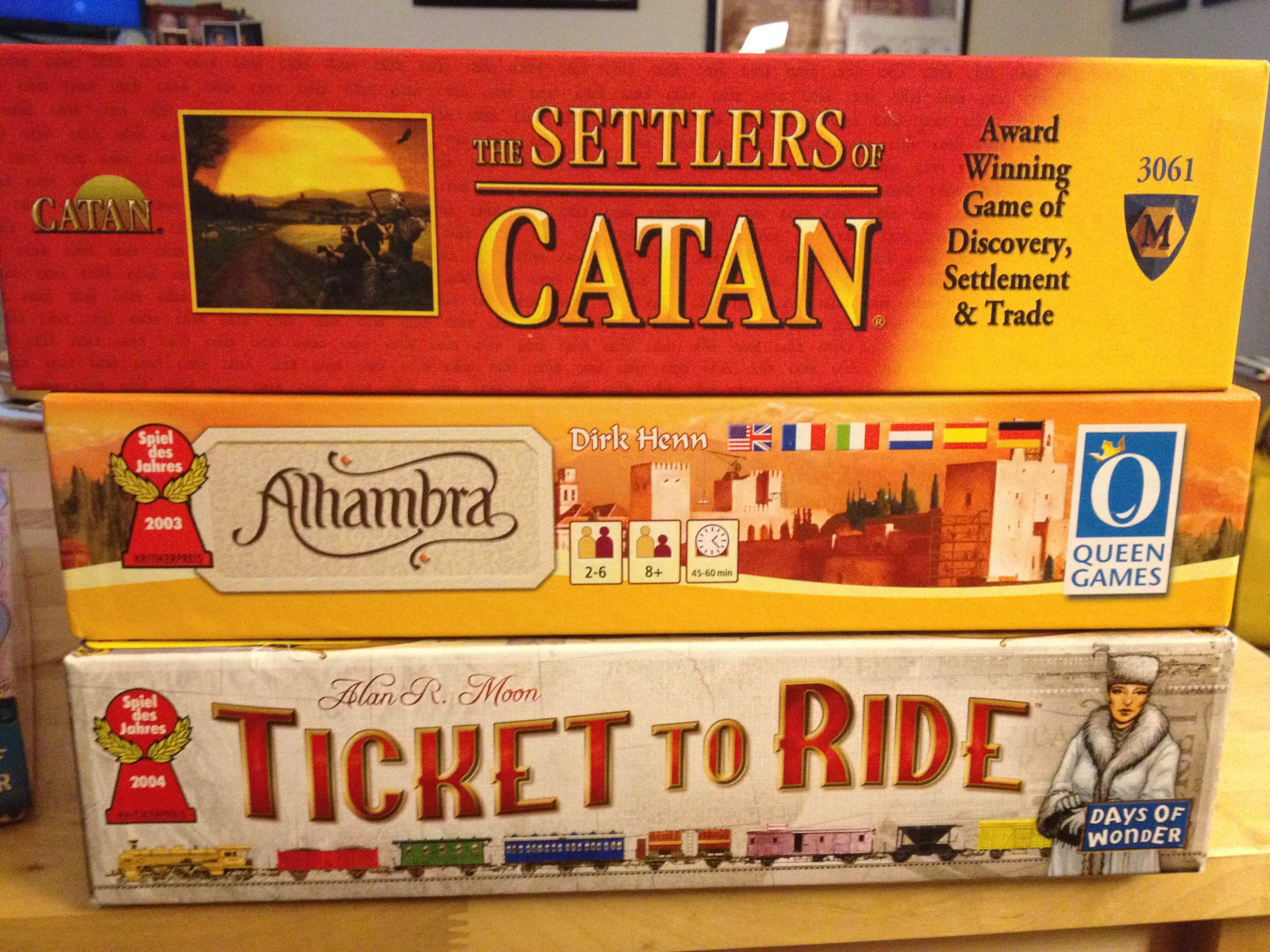 German-style board game | Fashion, Food & the Fortress of ...